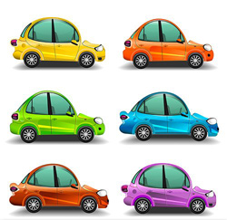 دانلود وكتور ماشين هاي رنگي زيبا