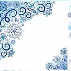 دانلود وکتور پس زمینه سفید از زمستان