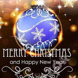 دانلود وکتور کارت پستال کریسمس