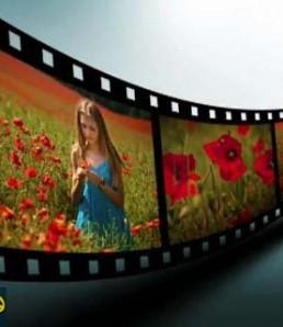 فیلم آموزشی ساخت نوار فیلم سه بعدی در فتوشاپ
