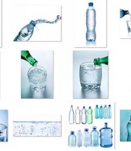 دانلود تصاویر باکیفیت از بطری های اب معدنی