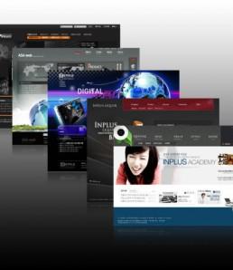 طرح پی اس دی قالب وب سایت