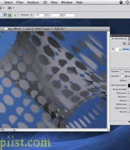 آموزش ساخت بکگراند سه بعدی