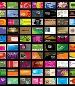 دانلود وکتور کارت ویزیتهای زیبا