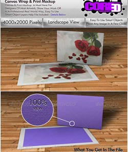دانلود فایل لایه باز بوم و چاپ کارت پستال
