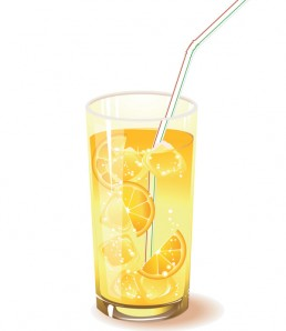 دانلود وکتور شربت آب لیمو