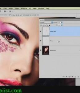 آموزش تاتو کردن تصاویر با فتوشاپ