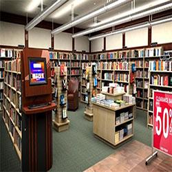 دانلود مدل سه بعدی فروشگاه کتاب
