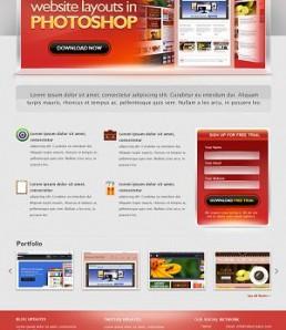 قالب وب سایت تجاری
