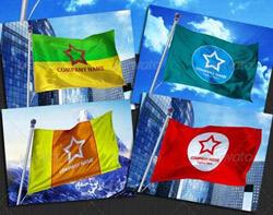 دانلود 5 فایل PSD پرچم کشورها