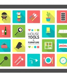 دانلود آیکون ابزار های خانه