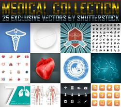 دانلود مجموعه بسیار جذاب وکتور با موضوع پزشکی