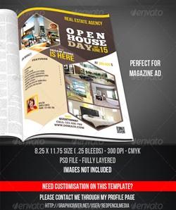 دانلود پوستر و مجله لایه باز املاک و مستغلات