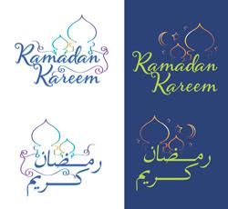 دانلود مجموعه وکتور ماه مبارک رمضان