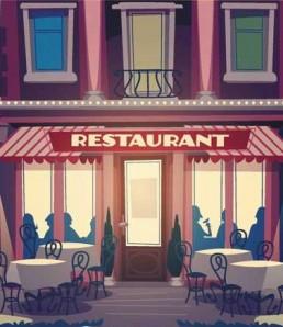 ددانلود وکتور استایل های متفاوت رستوران