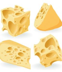 دانلود وکتور واقع گرایانه پنیر