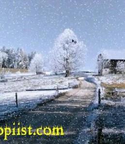 آموزش ساخت تصویر برفی در فتوشاپ