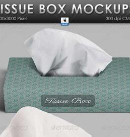 دانلود فایل لایه باز جعبه دستمال کاغذی