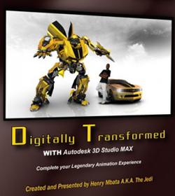 دانلود آموزش تبدیل ماشین کامارو به ربات در 3DMAX