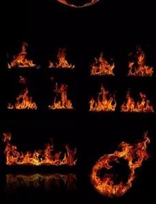 دانلود وکتور شعله آتش