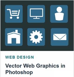 دانلود آموزش گرافیک برداری وب سایت در فتوشاپ