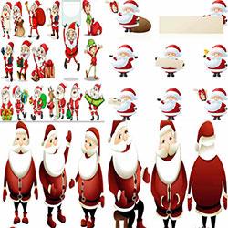 دانلود مجموعه وکتور های بابانوئل