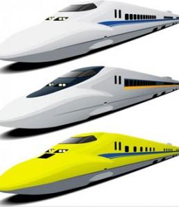 دانلود وکتور قطار مدرن