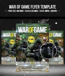 دانلود پوستر لایه باز بازی جنگ