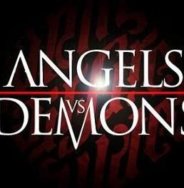 آموزش طراحی افکت متنی فیلم فرشتگان و شیاطین