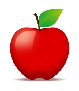 دانلود فایل لایه باز سیب قرمز