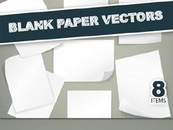 دانلود وکتور کاغذ خالی