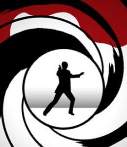 آموزش ساخت لوگوی جیمز باند در فتوشاپ