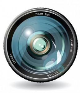 دانلود وکتور لنز دوربین