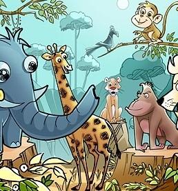 دانلود psd حیوانات کارتونی