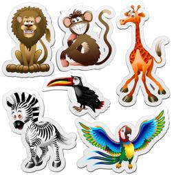 دانلود وکتور حیوانات مختلف و زیبا