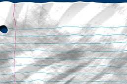 دانلود آموزش ساخت کاغذ مچاله شده در فتوشاپ