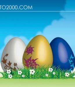 دانلود وکتور تخم مرغ عید