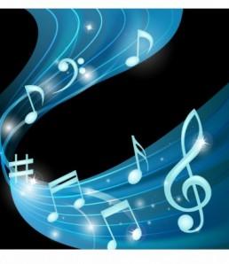 دانلود بکگراند نوت های موسیقی