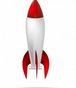 دانلود وکتور موشک فضایی