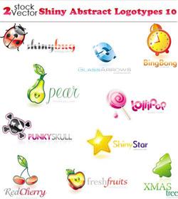 دانلود وکتور لوگوهای تایپی آبسترکت زیبا