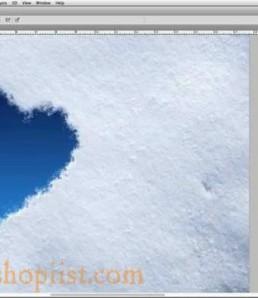 آموزش ساخت قلب برفی در فتوشاپ