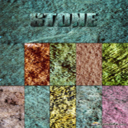 دانلود تکسچر سنگ های رنگی زیبا