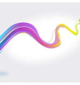 دانلود بک گراند امواج رنگی