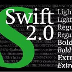 فونت Swift 2.0 Cyrillic