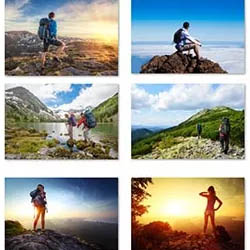25 تصویر با کیفیت با موضوع کوه نوردی