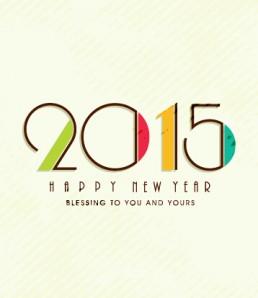 دانلود وکتور جدید سال نو 2015