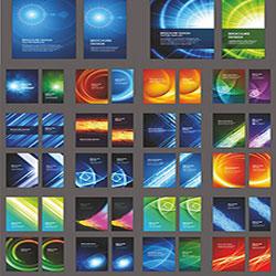 دانلود مجموعه وکتور الگوهای بروشور