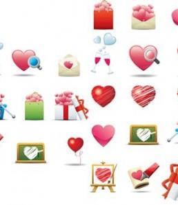 دانلود آیکون گرافیکی قلب