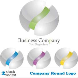 دانلود وکتور لوگو شرکت تجاری