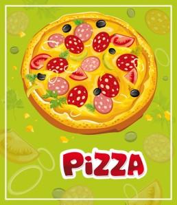 دانلود وکتور پیتزا